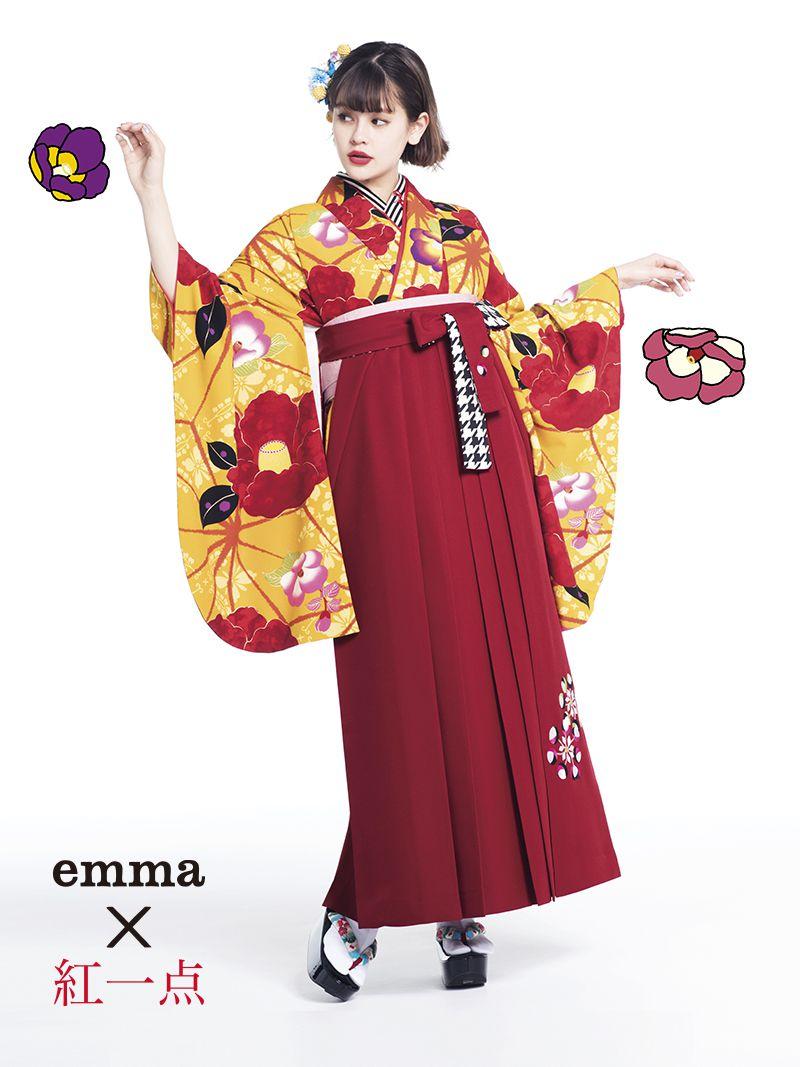 モデル emma  エマ 卒業式 袴