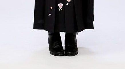 袴にはブーツ?草履? レンタル e-きものレンタル