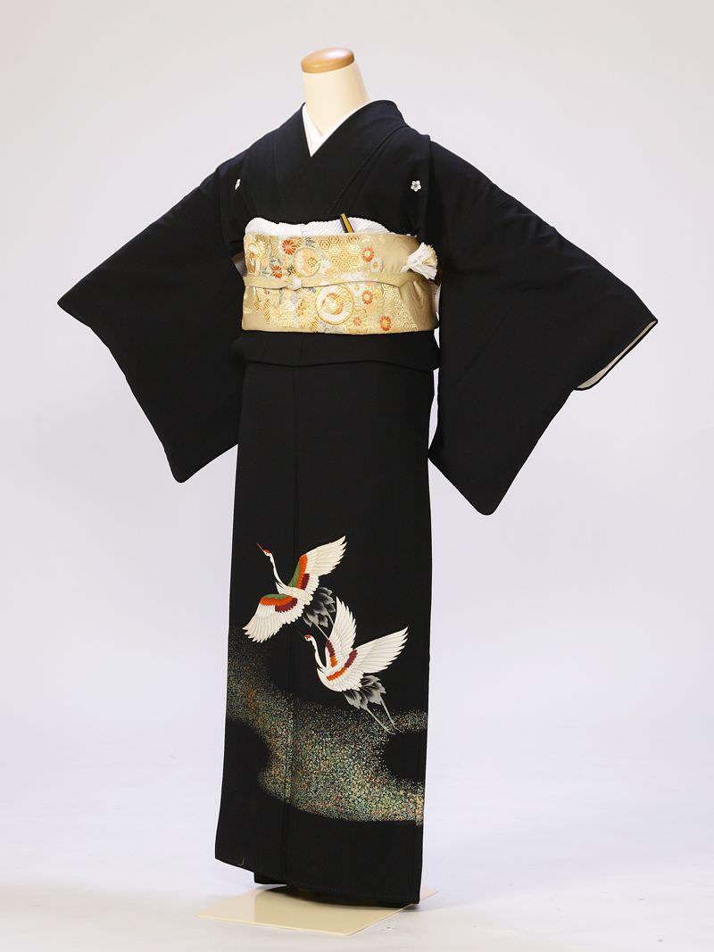 留袖 着物レンタル 鶴 ミセスの第一礼装