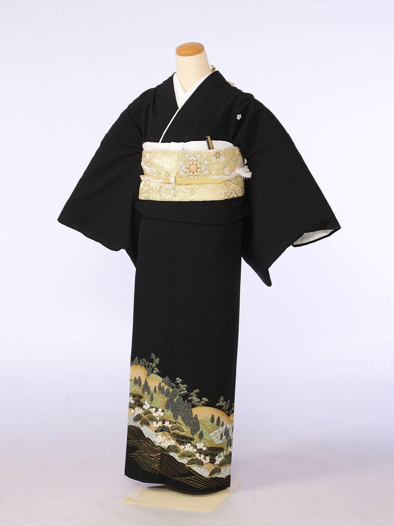 黒留袖 e-きものレンタル