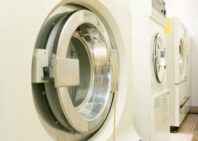 大型洗濯機による丸洗い